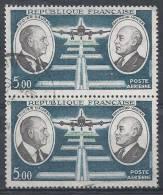 France Poste Aérienne N°46 Obl. (Paire) - Airmail