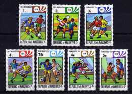 Maldive Islands - 1974 - Football World Cup Finals - MH - Maldives (1965-...)
