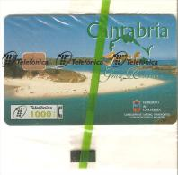 Tarjeta Telefonica  Nueva Cantabria - España