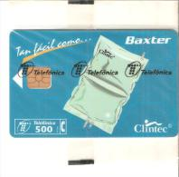 Tarjeta Telefonica  Nueva Baxter - España