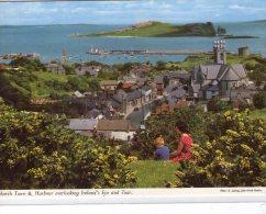 Irlande..Howth Town..animée..le Port..harbour..l'Eglise - Irlande