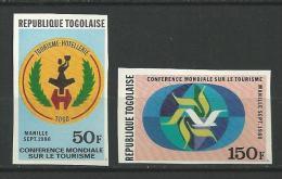 "Togo YT 995 Et 996 ND "" Conférence Tourisme "" 1980 Neuf** - Togo (1960-...)"