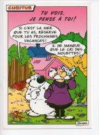 REF 136 : CPM Bande Dessinée BD Cubitus Dupa Si C'est La Mer Que Tu As... 1995 - Comicfiguren