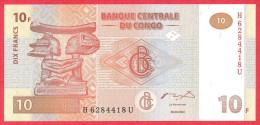 Congo - 10 Francs 2003 UNC / Papier Monnaie - Congo - Congo