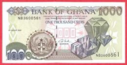Ghana - 1000 Cedis 2003 UNC / Papier Monnaie - Ghana - Ghana