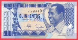 Guinea-Bissau - 500 Pesos 1990 UNC / Papier Monnaie - Guiné-Bissau - Guinea-Bissau