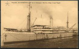 Paquebot Elisabethville - De La Compaigne Maritime Belge - LLoyd Royal - Paquebots