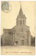 LA VILLETELLE Rare Eglise Saint Laurent Attelage Cheval (Dumousset) Creuse (23) - Andere Gemeenten