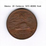 MEXICO    20  CENTAVOS  1973   (KM # 441) - Mexico
