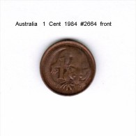 AUSTRALIA    1  CENT  1984   (KM # 62) - Decimal Coinage (1966-...)