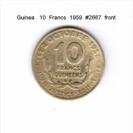 GUINEA    10  FRANCS  1959   (KM # 2) - Guinea