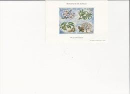 Philatélie - B986 -  Monaco - Bloc 4tp - Quatre Saisons - Blocks & Sheetlets