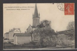 24 - Villetoureix Par Ribérac (dordogne) - Eglise - France