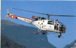 Eurocopter Aerosp. SA316B Alourette III Air Glaciers Elicotteri Helicopters Hélicoptères Hubschrauber Helicópteros - Elicotteri