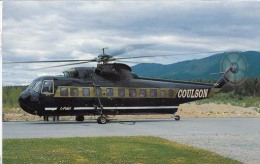 Sikorsky S-61 N  Coulson Ailcrane Elicotteri Helicopters Hélicoptères Hubschrauber Helicópteros - Elicotteri