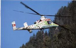 Kaman K-1200 K-Max Helog Elicotteri Helicopters Hélicoptères Hubschrauber Helicópteros - Elicotteri