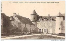 ELVEN MANOIR DE KERLEAU OU RESIDA LA FAMILLE DE RENE DESCARTES ,PERSONNAGE; REF 13269 - Elven