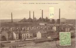 ESCH  Sur  ALZETTE  (Luxembourg)  Rue De La Hoelle Et Usine Des Brasseurs (04/04/1921) - Esch-Alzette