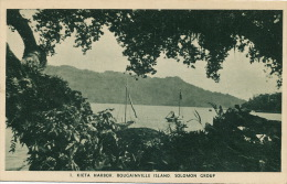Solomon 1 Kieta Harbor Bougainville Island   Mint - Solomon Islands