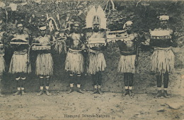 Hamond Island Natives Near Papua New Guinea No 13 O. Watson Edit 18693 Druck Robert Claus Dresden - Aborigènes