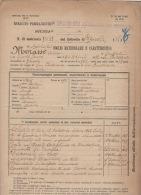 ^ SAMPIERDARENA GENOVA MORASSO ARTIGLIERIA DA MONTAGNA GUERRA ITALO TURCA FOGLIO MATRICOLARE DOCUMENTO MILITARE 20 - Historical Documents