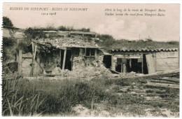 Nieuwpoort, Nieuport, Ruines De Nieuport, Abris Le Long De La Route De Nieuport Bains (pk12328) - Nieuwpoort