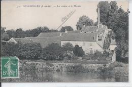 SOIGNOLLES - La Rivière Et Le Moulin - Belle Roue à Eau - France