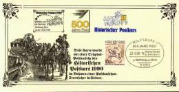 A00031 - Carte Souvenir  - Cs - Hk 2350 - Liaison Postale Allemande - 3180 Wolfsburg1 Vers Bonn -émission Allemande - De - Collezioni
