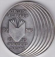 MEDAILLE CERCLE De La LIBRAIRIE Et Des INDUSTRIES Du LIVRE. - Otros