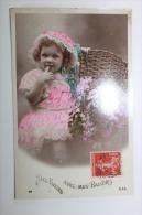 Photo PORTRAIT Petite Fille Avec Un Bouquet - Portraits