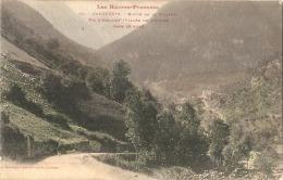 CAUTERETS  Route De La Raillere Colorisée TTB écrite - Cauterets