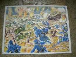 TABLEAU EDUCATIF EDITIONS MDI (Saint Germain En Laye) HISTOIRE : GUERRE 1914-1918