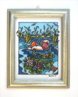 Anatra Mandarino - Dipinto Su Vetro - Artista Tiziana Pantalone - Other Collections