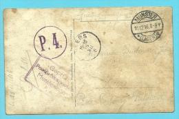Foto-kaart Verzonden Van MUNSTER Naar HEERS - WW I