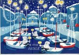 TRIESTE. Buon Natale. Ed. LA CITTADELLA. Vg. C/fr. Per TRENTO 1958. - Trieste