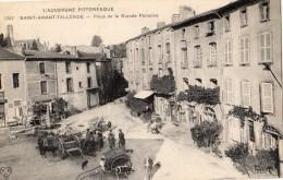 SAINT-AMANT-TALLENDE PLACE DE LA GRANDE FONTAINE - France