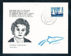 Niederlande Erinnerungsbeleg Valerina Tereschkowa Die Erste Frau Im Weltall 16.6.1961 Amsterdam 16.6.1963 - 1949-1980 (Juliana)