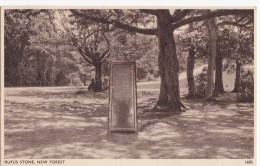 C1920 NEW FOREST RUFUS STONE - England