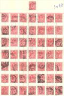 3n-965: Leftover From 50 Stamps:  1 D. - 1902-1951 (Kings)
