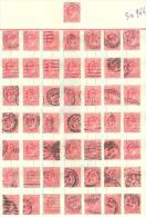 3n-964: Leftover From 50 Stamps:  1 D. - 1902-1951 (Kings)