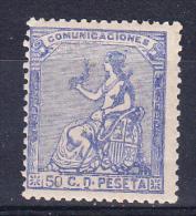 ESPAÑA 1873.EDIFIL Nº 133. 10 CENT. ALEGORIA DE LA REPUBLICA.NUEVO CON GOMA. SES425 - 1873 1ª República