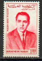 Maroc-Roi Hassan Poste Aérienne YT PA 107 ** - Marocco (1956-...)