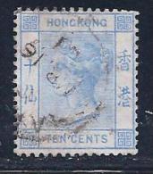 Hong Kong, Scott # 45 Used Queen, 1900 - Hong Kong (...-1997)