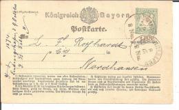 Bay334/ P 1 Ex Ludwigshafen 1874 (Bayern) - Bavaria