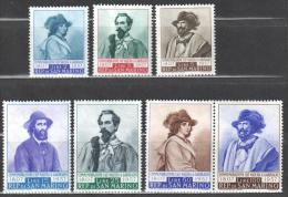 San Marino 1947 Garibaldi Mi.577-583 MNH (**) - Unused Stamps