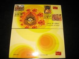 India 2008 Festivals Of India Hindu Mythology Deepavli Sc 2259a M/s Presentation Pack - Hinduism