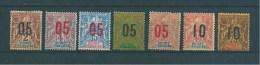Colonie Timbres  De Guinée  De 1912  N°48  A  54  Neufs * - Französisch-Guinea (1892-1944)