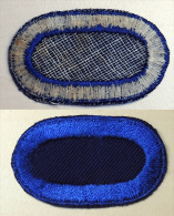 USA - Authentique Patch  Oval Backing Parachutist - Unassigned US Army Infantry Airborne 40/50 - Patches