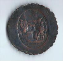 Médaille De Confiance/ Révolution Française/Monneron/Type Pacte Participatif/5 Sols/1792  D371 - France