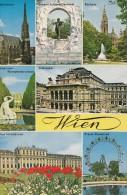 B73256  Wien    2 Scans - Château De Schönbrunn